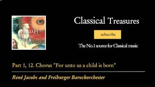 Watch George Frideric Handel 12 Chorus For Unto Us A Child Is Born video