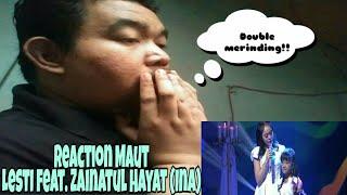 [Reaction] Merinding!! Lesti feat. Zainatul Hayat (Ina) - Si Kecil (DAA4)
