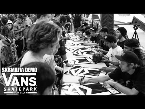 SK8MAFIA DEMO - VANS PARK 2015