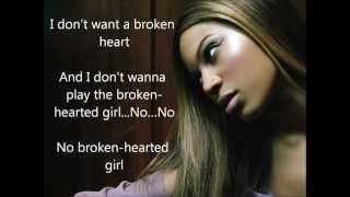[Lyrics] Beyoncé - Broken hearted girl