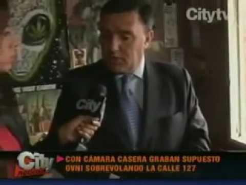 UFO Bogota Columbia June 12 2009 CityTV News
