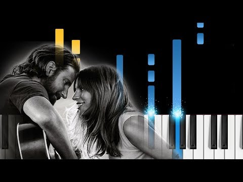 Lady Gaga - I'll Never Love Again (A Star Is Born) - Piano Tutorial & Sheets