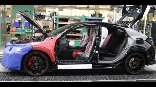 The Honda Civic Type R How It's Made (Inside the Factory)