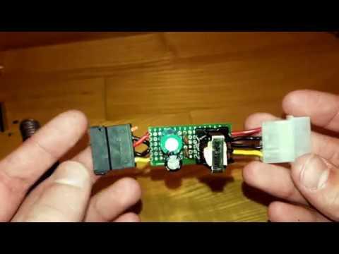 фильтр питания для жесткого диска своими руками