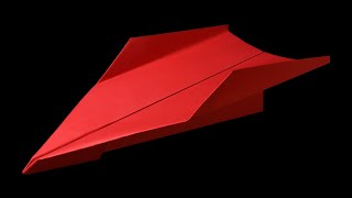 How to make a Paper Airplane that FLIES 100 FEET - BEST paper airplane in the world | Carny+