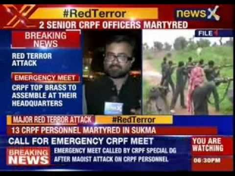 Red terror attack, CRPF calls for emergency meeting