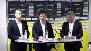 10.4.2017 SaiPan 25. päävalmentajan julkistus