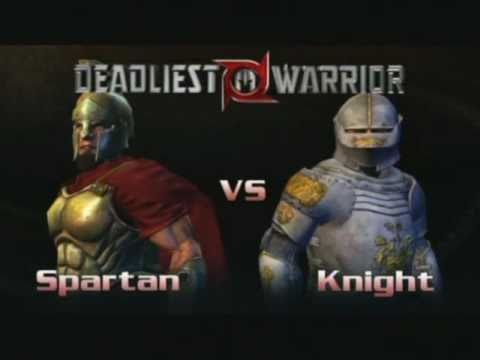 Let's Play Deadliest Warrior - 13 - This Is Sparta!!! video