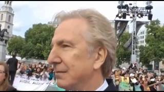 Homenaje a Alan Rickman en Magic Meeting 2016