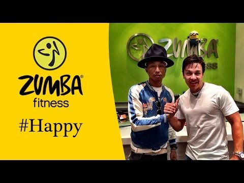 Pharrell Williams Zumba Happy