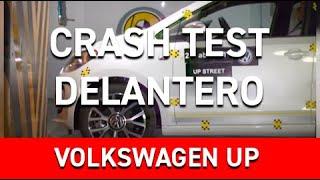 Crash test delantero Volkswagen Up