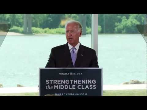 Vice President Joe Bidenin Dubuque, Iowa: Strengthening the Middle Class Tour - Full Speech