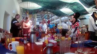 Chef Micky's Character Breakfast @ Disney's contemporary resort
