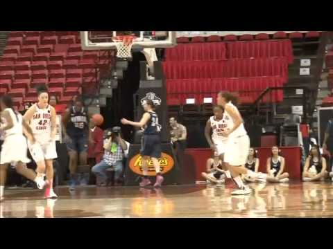 SDSU WOMEN'S HOOPS: Aztecs 67, Nevada 39 (MWC Tournament)