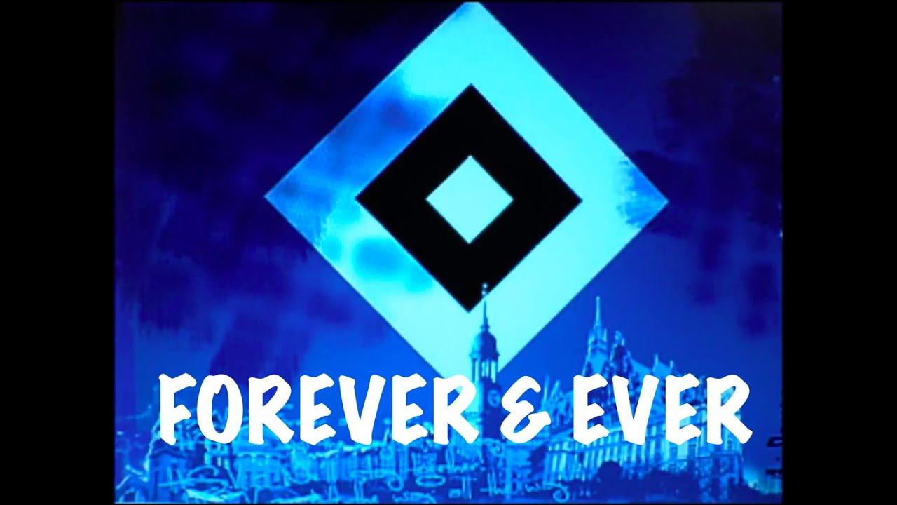HSV Forever & Ever - Einlaufhymne (HD/HQ) - YouTube