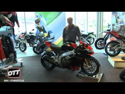 2009 Aprilia RSV4 Factory Showroom Floor Preview Video