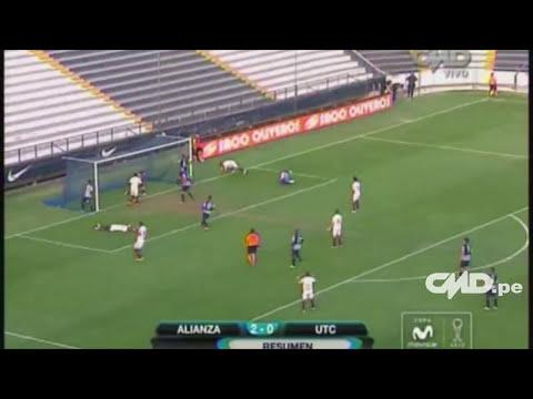 Resumen; Alianza Lima 2-0 UTC (Copa Movistar Torneo Clausura)