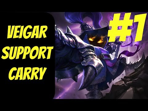 How to Carry as Veigar #1 -- Only Support to Diamond Series -- League of Legends