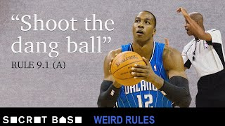 Slow free throws led to a Dwight Howard suspension | Weird Rules