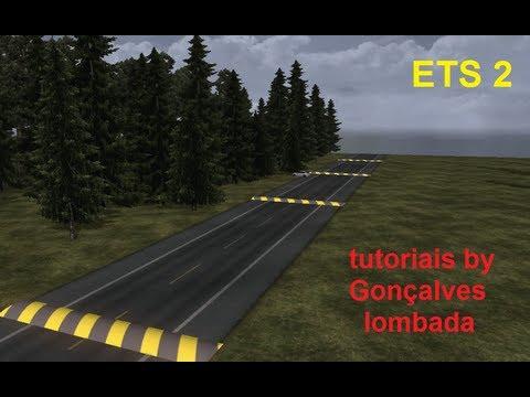 tutorial como criar lombada para - Euro Truck Simulator 2 (parte 2)
