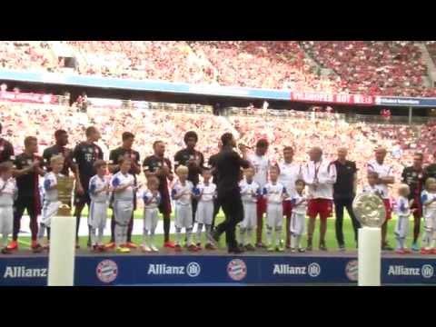 Training vor 65.000 Fans! FC Bayern München präsentiert sich in der Allianz Arena | Bundesliga