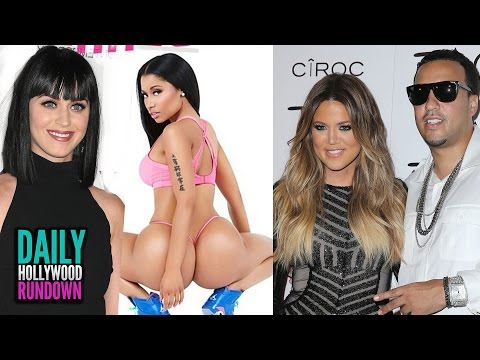 Katy Perry Naps on Nicki Minaj's Booty?! Khloe K SEX Fast (DHR)