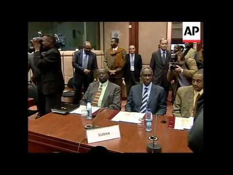 EU, US and African officials meet to dicuss  Darfur crisis