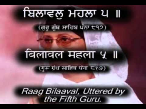 Read Along Dukh Bhanjni Sahib HindiPunjabi Captions & Translation...