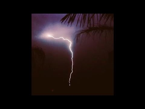 Lightning Storm Caught On Camera In South Australia video