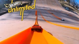 EPIC MEGA RAMP TRACK | Hot Wheels Unlimited: Track Only Edition | Hot Wheels