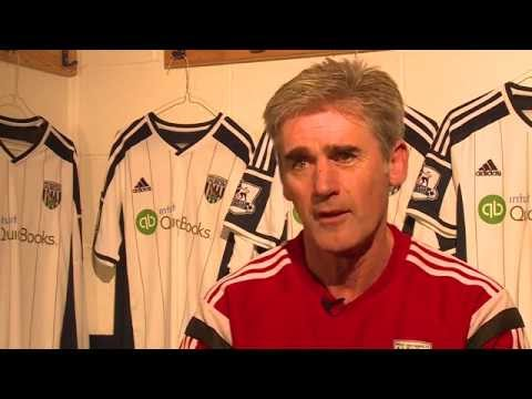Alan Irvine previews West Bromwich Albion's Premier League game against Manchester City