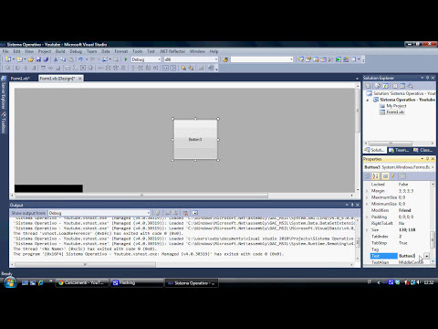 Tutorial Sistema Operativo - Visual Basic