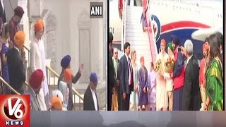 Canada Prime Minister Justin Trudeau Visits Golden Temple In Amritsar