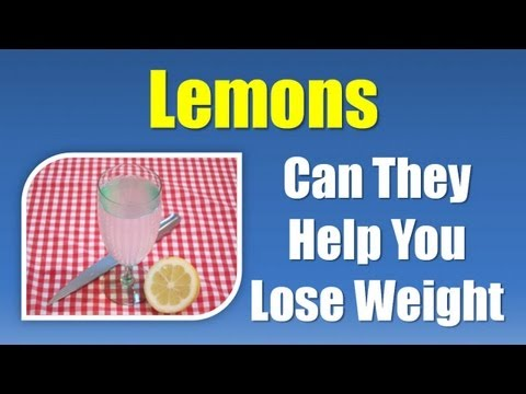 Best Foods for Weight Loss - Lemon for Weight Loss