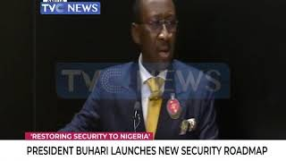 Buhari launches National Security Roadmap