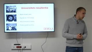 Student invites students to join Demola Vilnius