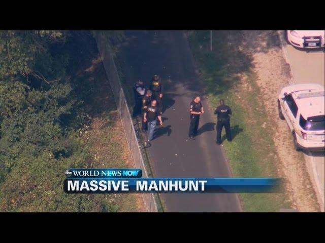 Massive Manhunt Underway After Illinois Cop Fatally Shot    ABC News
