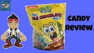 SpongeBob Chocolate with Jake and the Never Land Pirates, Kid Candy Review