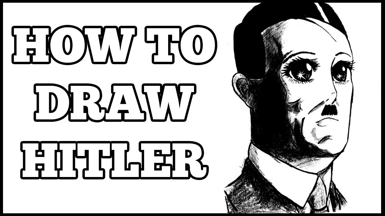 Easy Hitler Drawings How to Draw Hitler