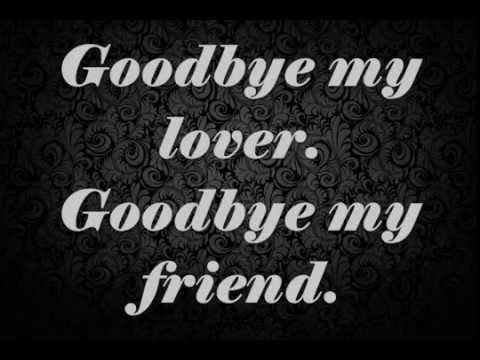 James Blunt - Goodbye My Lover Lyrics