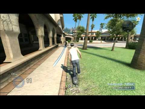 Skate 3 - Rob Dyrdek - Follow