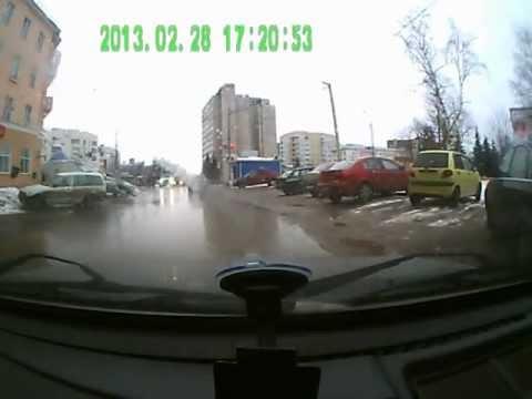 ДТП во Владимире у гостиницы Заря
