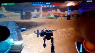 Прохождение игры война роботов .