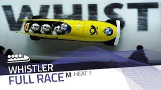 Winterberg | BMW IBSF World Cup 2017/2018 - 4-Man Bobsleigh Heat 1 | IBSF Official