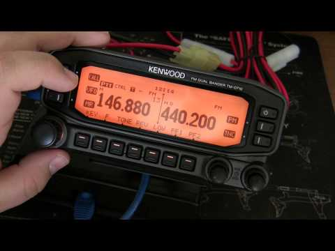 Kenwood TM-D710a - Basic Setup & Programming Repeaters