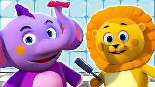 Luke's Pretend Play Morning Routine Brush Your Teeth | Cartoons for Children | ABC Learning Club