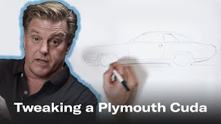 Chip Foose tweaks the design of the 1970 Plymouth Cuda | Foose on Design - Ep. 3