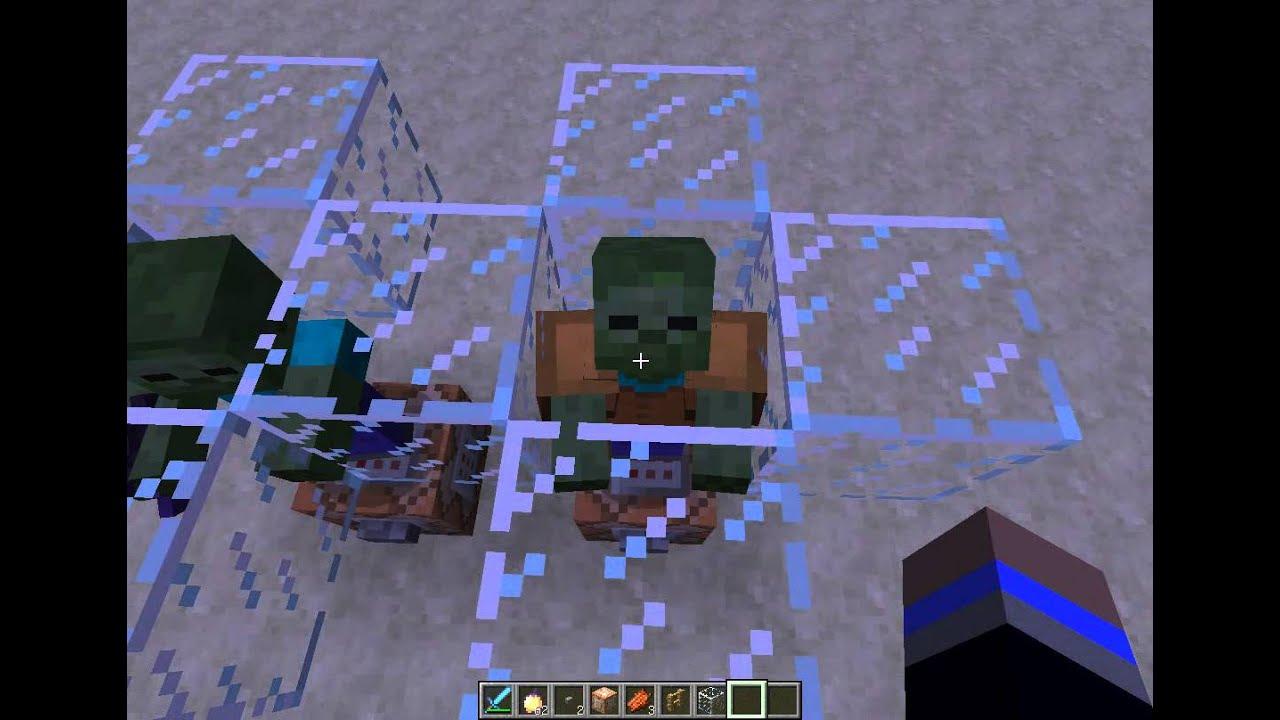 Командные блоки Minecraft 8 - Покрашенная броня у мобов - YouTube