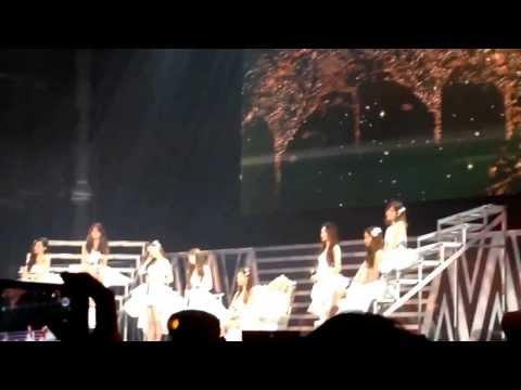 Baby Baby  @Girl's Generation world tour in Bangkok