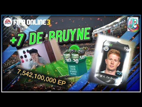~Wow KDB +7!!!~ Current Season Upgraded Package 2019 Opening - FIFA ONLINE 3
